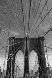 Brooklyn Bridge Tones Photographic Print by Jessica Jenney