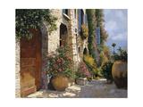 La Bella Strada Giclee Print by Guido Borelli