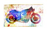 Moto V Giclee Print by Greg Simanson