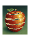 Red Apple Giclee Print by Harro Maass
