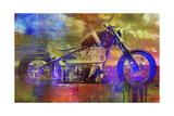 Bobber Moto Giclee Print by Greg Simanson