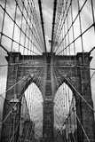 Brooklyn Bridge Mood Photographic Print by Jessica Jenney