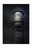 Bemis Water Tower Giclee Print by Jai Johnson