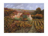 Tra Le Vigne a Montalcino Lámina giclée por Guido Borelli