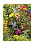 Tropical Scenery Giclée-tryk af Harro Maass