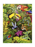 Tropical Scenery Giclee Print by Harro Maass