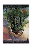 Save the Rainforest Giclee Print by Harro Maass