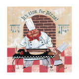 It's Time for Pizza Giclee Print by Gregg DeGroat