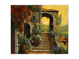 Le Scale Giclee Print by Guido Borelli