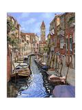 Il Gatto Nero a Venezia Giclee Print by Guido Borelli