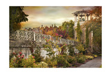 The Walled Garden Giclee Print by Jessica Jenney