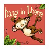 Hang in Monkey Giclee Print by Jennifer Nilsson