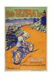 Moto Ultima Lyon Giclee Print by Marcus Jules