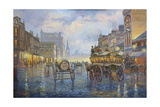 City Lights Giclee Print by John Bradley