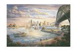 A Sydney Farewell Giclee Print by John Bradley