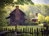 Oconaluftee Village Photographic Print by J.D. Mcfarlan