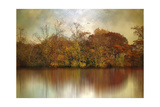 Autumn on a Pond Giclee Print by Jessica Jenney