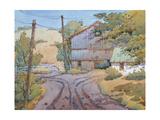 A Barn I Saw in Mt Pleasant Giclee Print by Joyce Hicks
