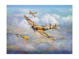 Warriors of the Sky Giclee Print by John Bradley