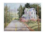 Laurel Mountain Farm Giclee Print by Joyce Hicks