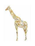 Giraffe Giclee Print by Louise Tate