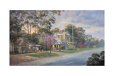 Close of Day - Gundaroo Giclee Print by John Bradley
