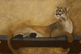 She's a Cougar Giclee Print by Jan Panico