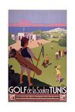 Golf De La Soukra Tunis Giclee Print by Marcus Jules