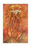 Phoenix Rising Giclee-trykk av Linda Ravenscroft