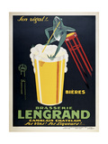 Brasserie Lengrand Giclee Print by Marcus Jules