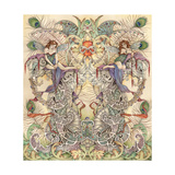 The Pedestal Giclee-trykk av Linda Ravenscroft