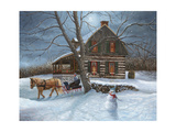 Winter Moonlight Reproduction procédé giclée par Kevin Dodds