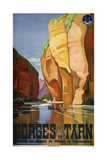 Gorges du Tarn Giclee Print by Marcus Jules
