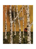 Birch Grove 1 Giclee Print by Karla Gerard