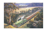 Approaching Cowan Bank Giclee Print by John Bradley