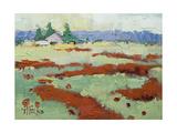 Poppy Farm Giclee Print by Joyce Hicks