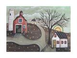 Barn Silo Giclee Print by Karla Gerard