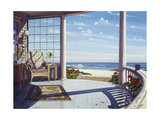 Curved Porch I Giclee Print by Lee Mothes