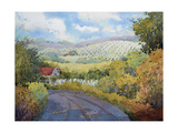 Out Santa Rosa Creek Road Giclee Print by Joyce Hicks