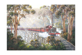 Misty Morning - Belgrave Giclee Print by John Bradley