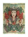 Daughter of Avalon Giclee-trykk av Linda Ravenscroft