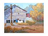 Barn Door Whimsy Giclee Print by Joyce Hicks