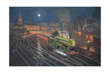 Evening Departure Giclee Print by John Bradley