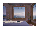House - Top Bedroom Giclee Print by Lee Mothes