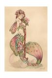 Spring Blossom Tide Giclee-trykk av Linda Ravenscroft