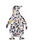 Penguin Giclee Print by Louise Tate