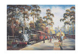 All Aboard Giclee Print by John Bradley