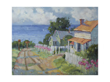 Lilies by the Sea Giclee Print by Joyce Hicks