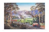 Western Endeavour Giclee Print by John Bradley