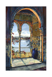View from the Alhambra Giclee Print by Karen Stene